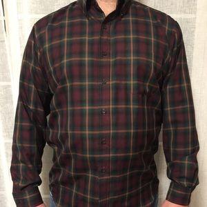 Men's XL Sir Pendleton Wool casual button down.